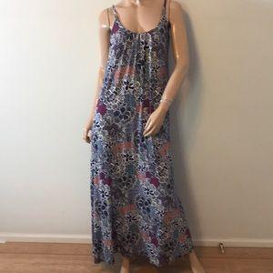 Beautiful floral Cynthia Rowley maxi dress
